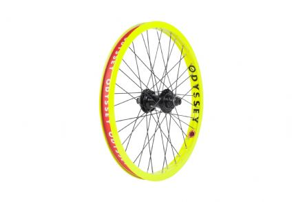 Odyssey Hazard Lite Freecoaster Wheel - Fluorescent Yellow - RHD